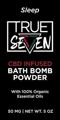 CBD Sleep Bath Bomb Powder