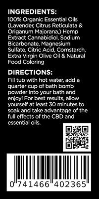 CBD Sleep Bath Powder